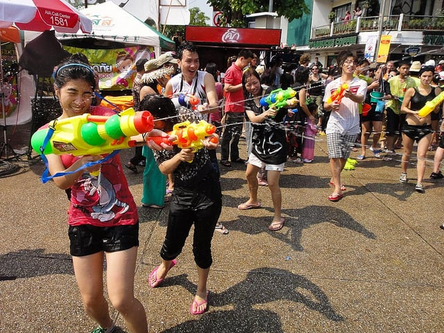 Thailand's New Year, Songkran, Is the World's Largest Water Fight