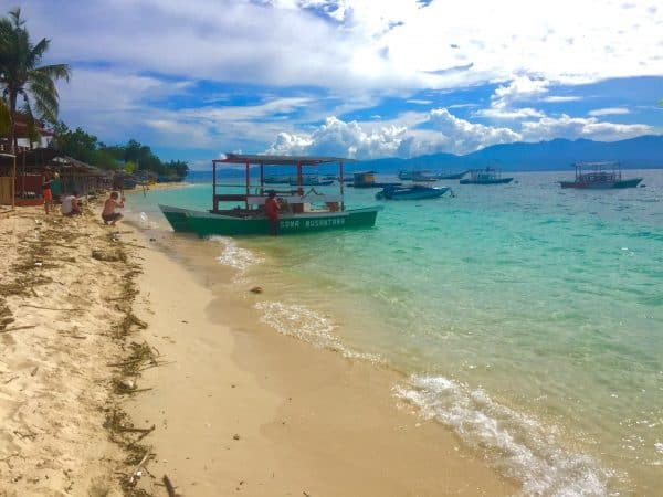 Tanjung Karang Beach at the Prince John Dive Resort, Sulawesi