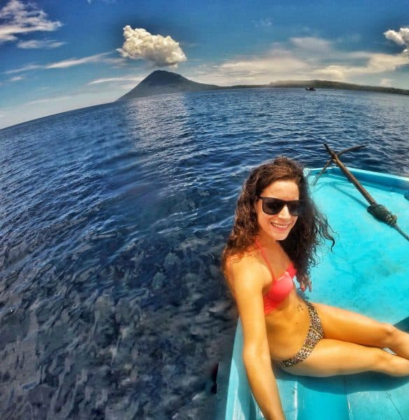 nina at Bunaken Island