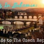Travels In Bohemia: Visit Czech Republic