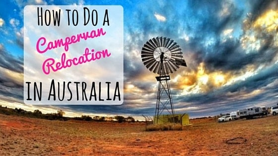 How to Do a Campervan Relocation in Australia for $1