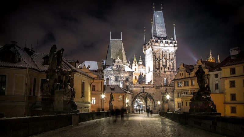 Beautiful candid shot of the Prague, Czech Republic.