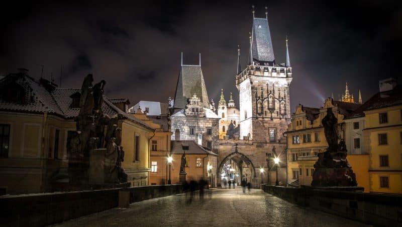 Beautiful candid shot of the Prague, Czech Republic.