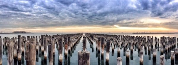 Princes Pier is a free thing to do in Melbourne.