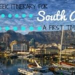 A Two-Week Itinerary for South Africa – A First Timer's View