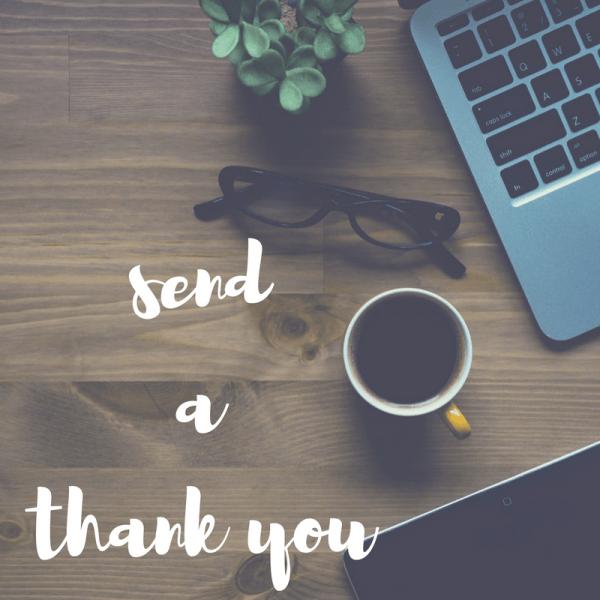 I'd love a thank you…