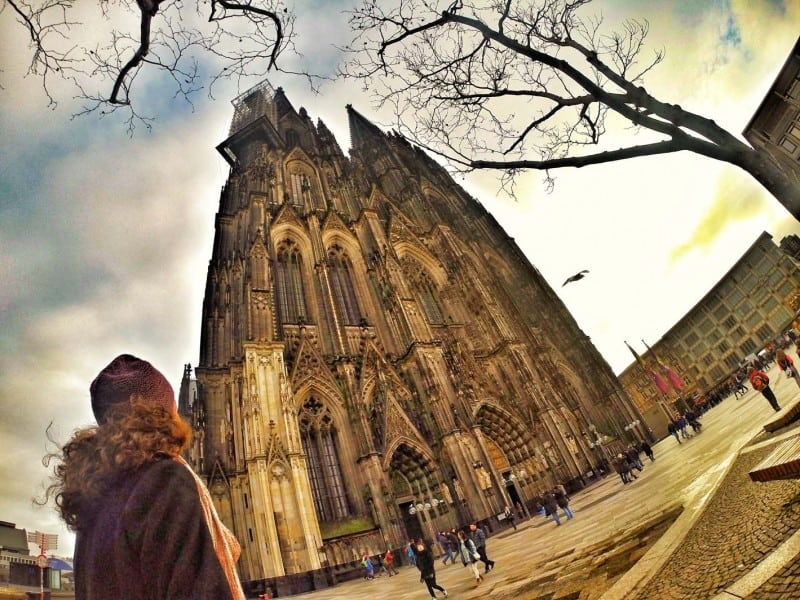 I went to Cologne Cathedral during my one day visit.