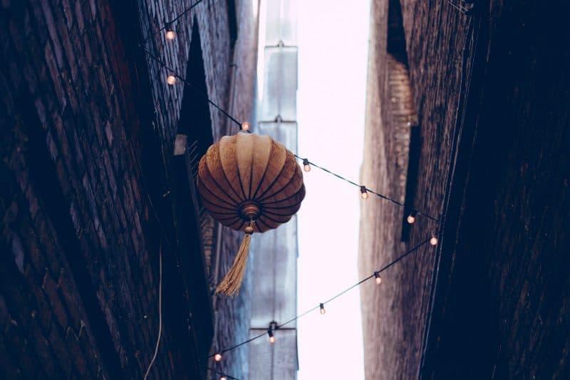 Amazing lanterns in China.