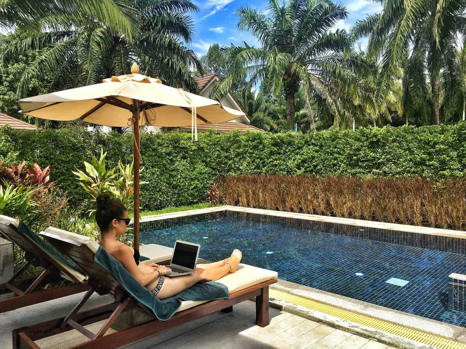 Once you master how to become a freelancer, you can work from anywhere.