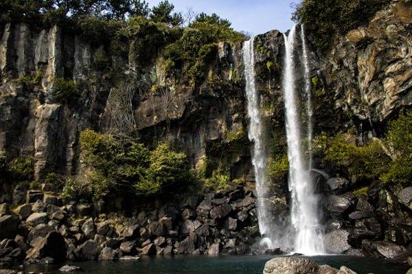 Jeongbang Waterfalls Things To Do In Jeju road trip