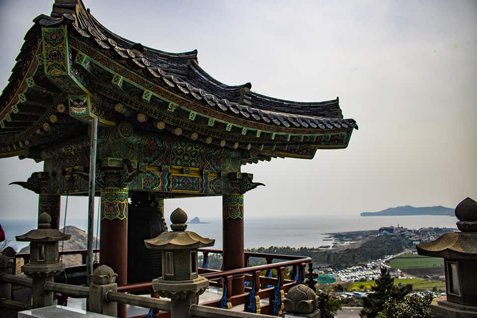 Sanbangsan South Korea