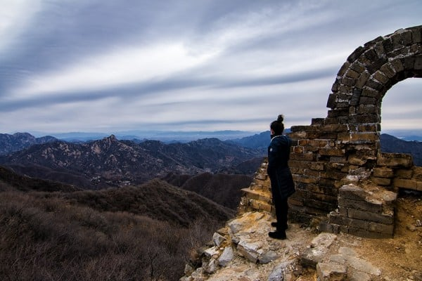 Jiankou Great Wall of China is regarded as the most picturesque section