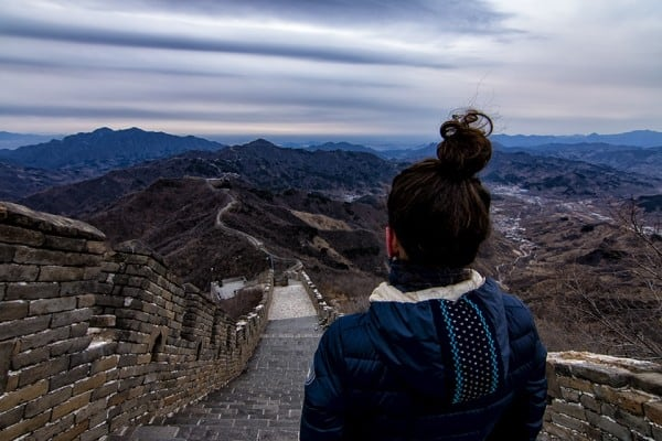 Escape the crowds around the Great Wall of China