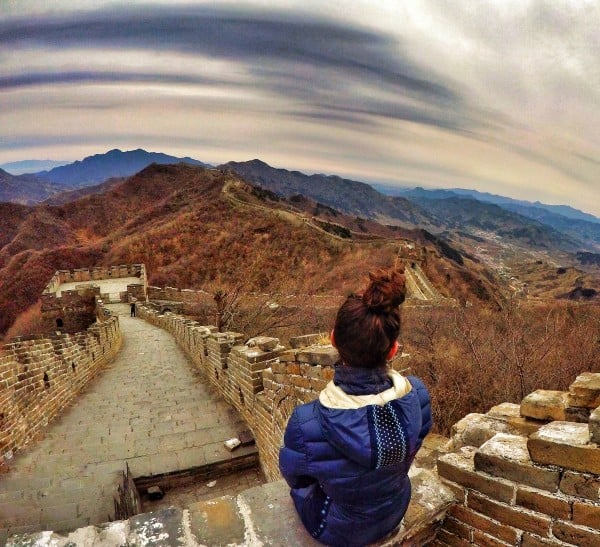 the Great Wall of China is the most recognizable symbol of China