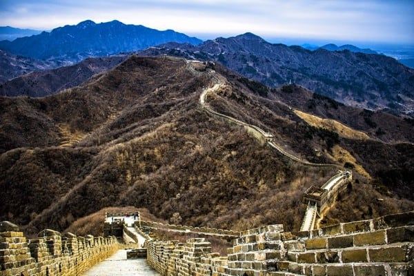 Another pictorial representation of the Mutianyu Section of the Great Wall of China