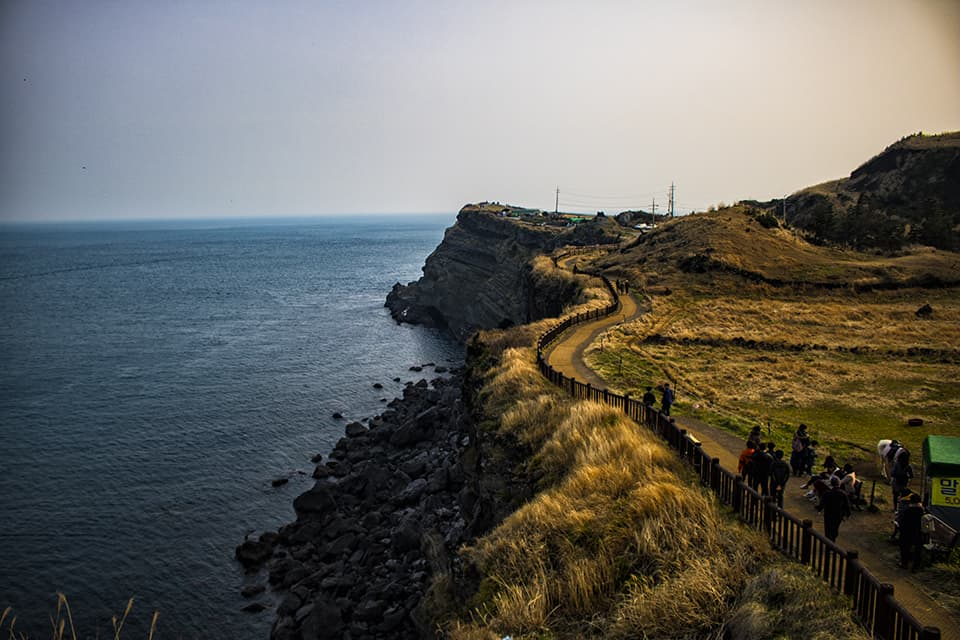 Songsak Mountain Things To Do In Jeju road trip