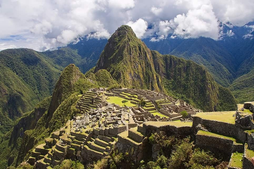 People From Around The World Come To Trek In What Was Intended Be A Palace For Former Incan Emperor