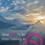 Trekking in Nepal, Poon Hill Trek, Nepal trekking, Annapurna circuit,annapurna trek,nepal tour