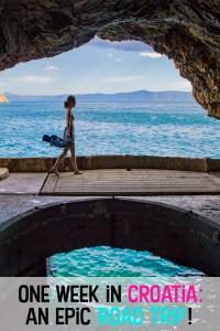 One-Week Road Trip Croatia Itinerary, 7 days in croatia, one week croatia, croatia itinerary for 7 days