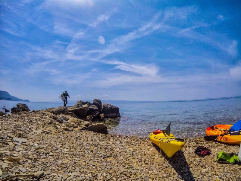 Things to do in Split and Omis, Croatia: Sea Kayaking!