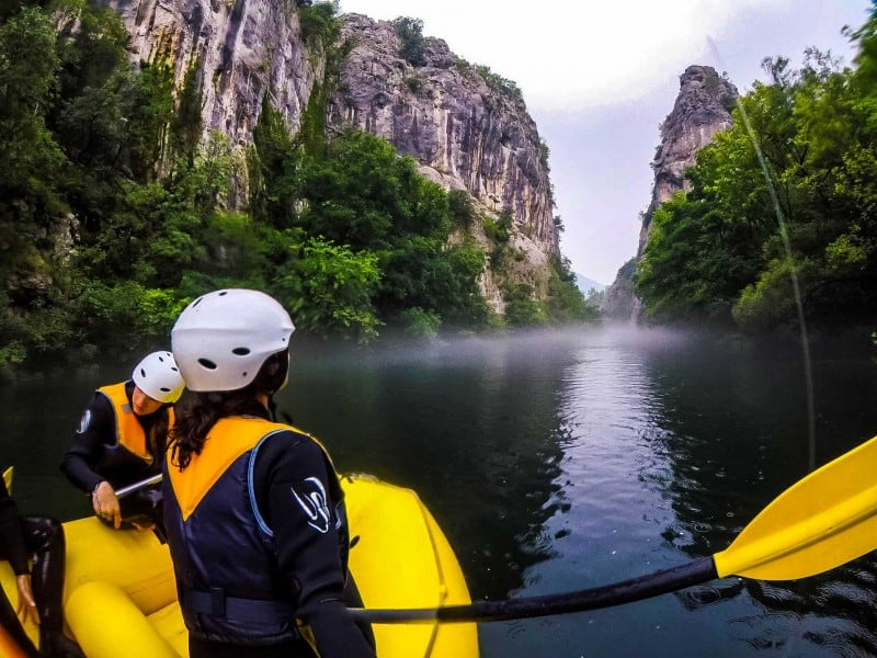 Things to do in Split and Omis, Croatia: Rafting adventure