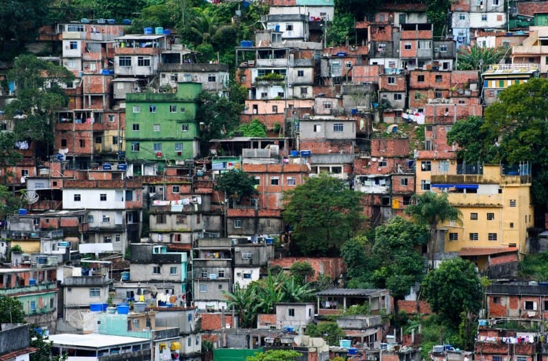 Favela Rocinha is one of the best place to stay in 3 days in Rio.