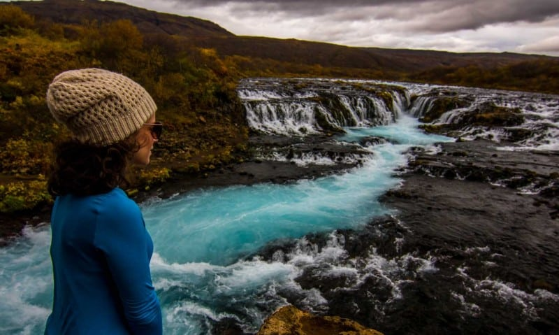 waterfalls to see on a iceland itinerary