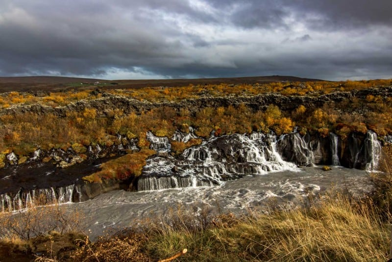 iceland itinerary waterfallon west coast