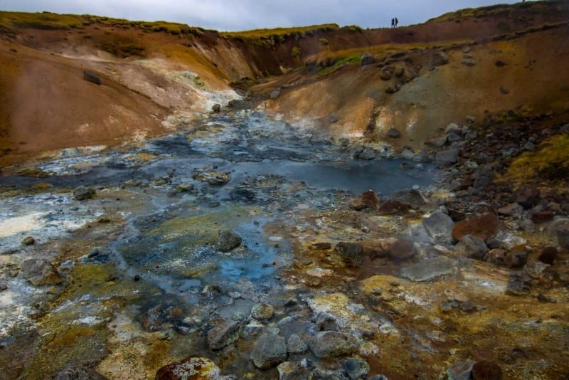 Geothermal springs iceland itinerary