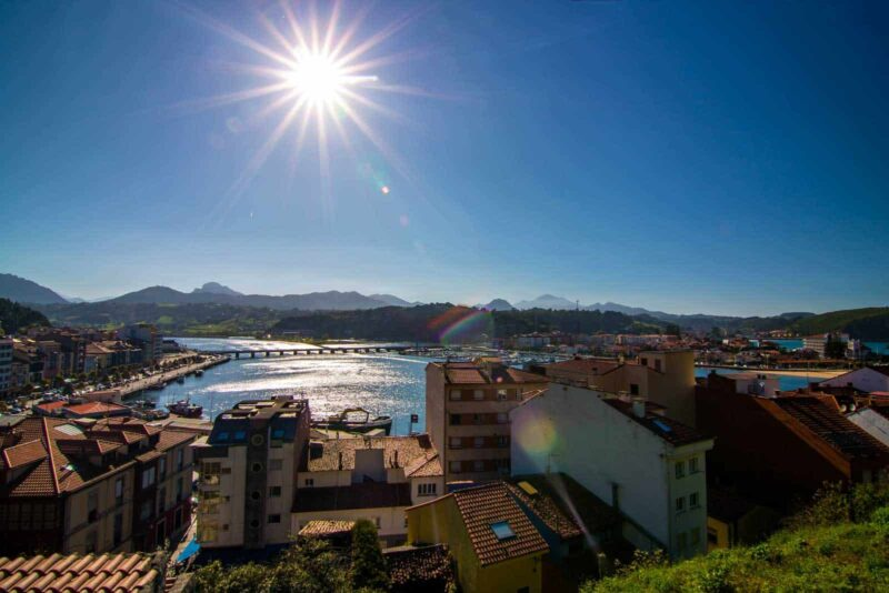 Ribadesella, Asturias is a nice spot to visit on this Northern Spain itinerary