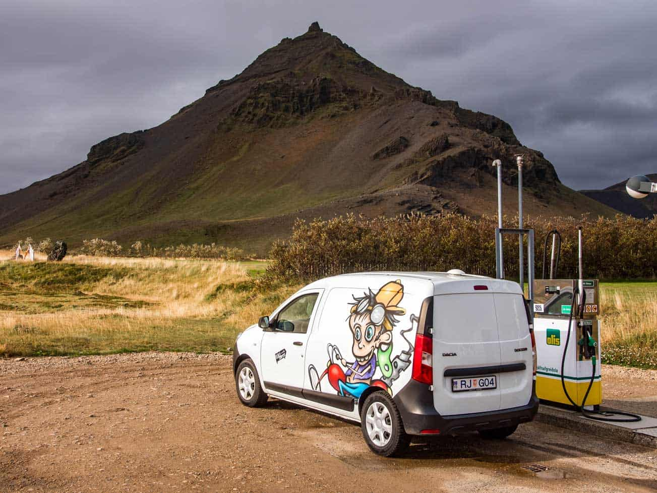 driving in iceland: tips, renting a campervan in iceland, and campsites