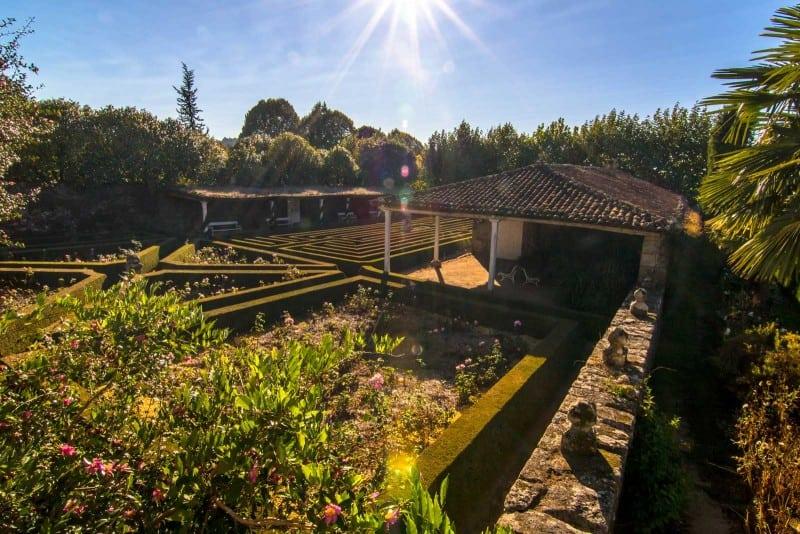visit galicia Pazo de Fefiñanes winery