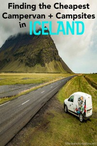 Cheapest Campervan inIceland and iceland Campsites