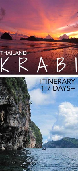 Krabi Itinerary: What To Do In Krabi, Thailand for 1-7 days