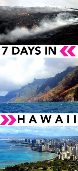 A perfect 7 days in hawaii itinerary