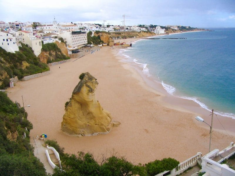 Praia do Peneco Algarve beach
