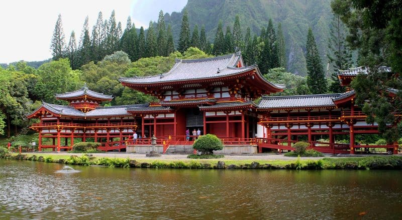 Visit Byodoin Temple replica during your first time in Hawaii