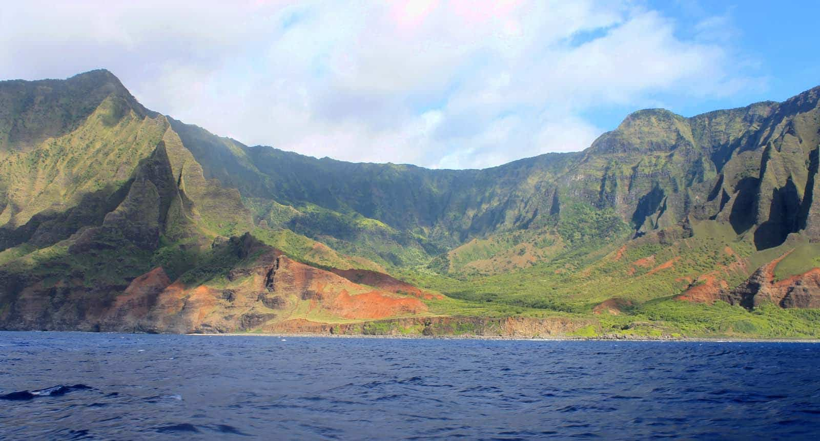 Na Pali Sea Cliffs - A must sight seeing in your hawaii itinerary