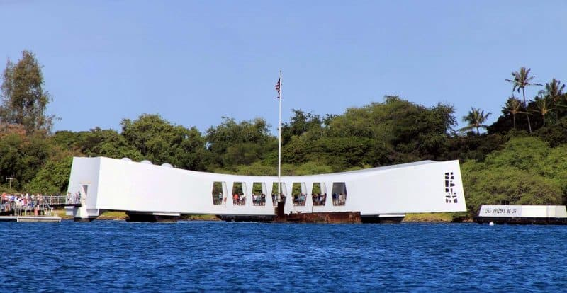 USS Arizona Memorial is one of the best activities to do in one week in Hawaii