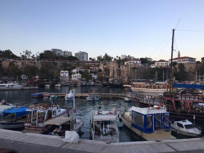 Marina Harbor in Antalya makes for a nice visit.