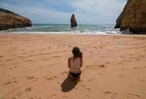 A beautiful and popular Algarve beach - Praia da Carvalho