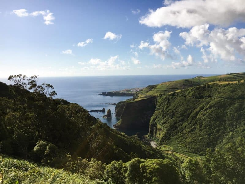 cedros bay is one of the best things to do in azores