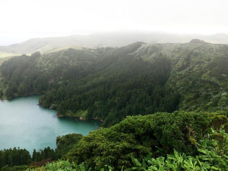 Enjoying lagoons is one of the best things to do in azores