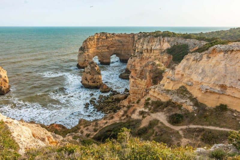 Marinha - best beaches in the Algarve
