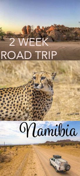 Self drive namibia with this itinerary