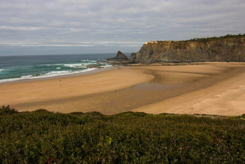 Visiting Praia de Odeceixe, one the Algarve's best beaches