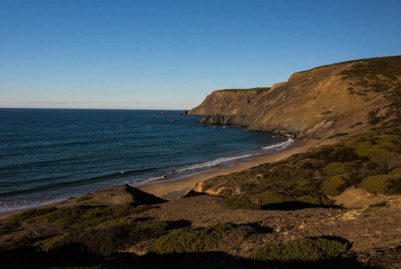 A quiet Algarve beach, Praia da Ponta Ruiva