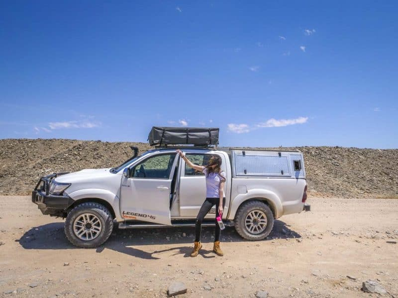 watching the Namib desert and safari with our personal carrier is a fun way to spend time on your Namibia itinerary