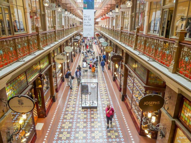Include The Strand Arcade in your 7 days in Sydney itinerary