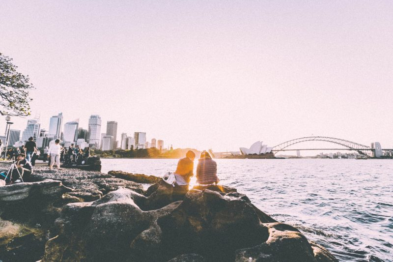 A Sydney itinerary isn't complete without an epic sunset view